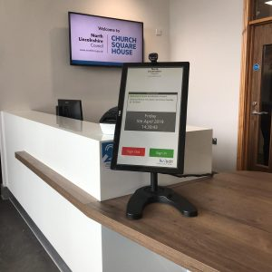 Visitor management system in North Lincolnshire