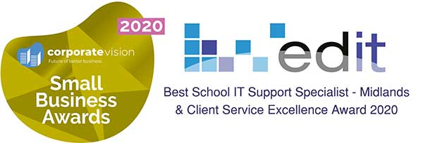 Small Business Award Best Schools IT Support 2020