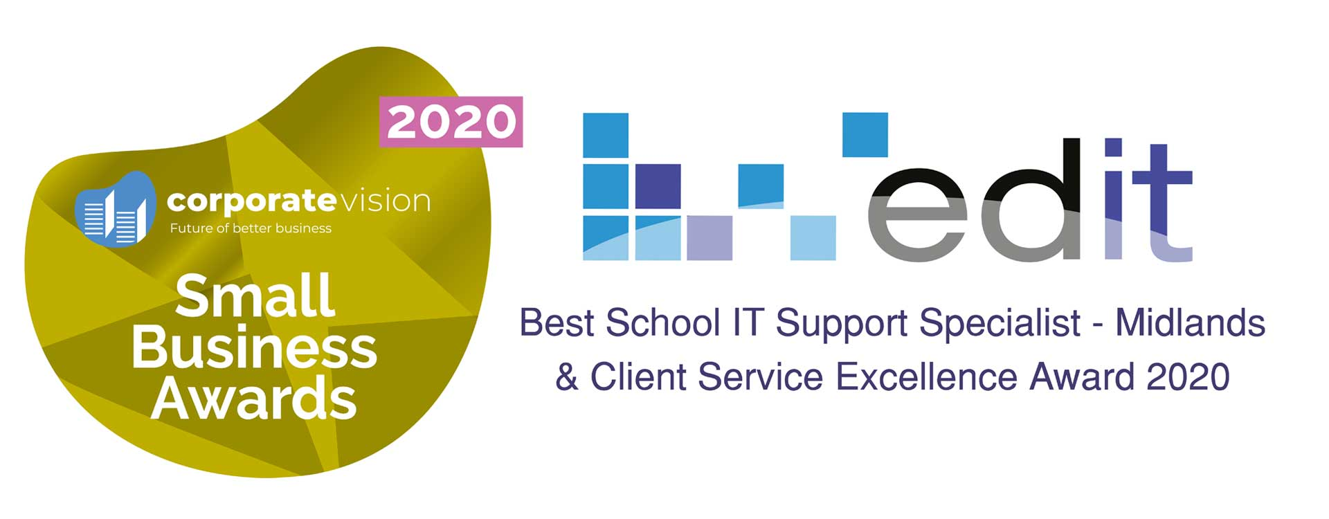 Small Business Award 2020 - Best Schools IT Support